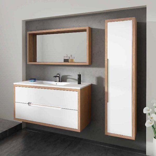 ארון אמבטיה מעוצב תלוי דגם לאסו