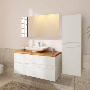 ארון אמבטיה תלוי מעוצב צבע אפוקסי