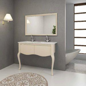 ארון אמבטיה מעוצב רגליים