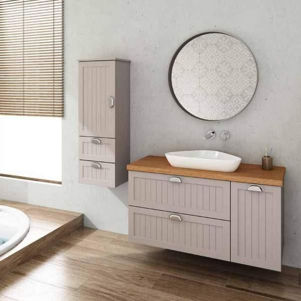 ארון אמבטיה כפרי דגם אנונה