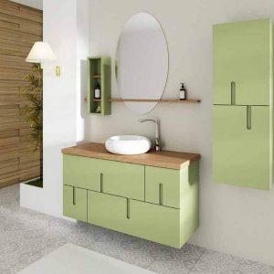 ארון אמבטיה מעוצב תלוי