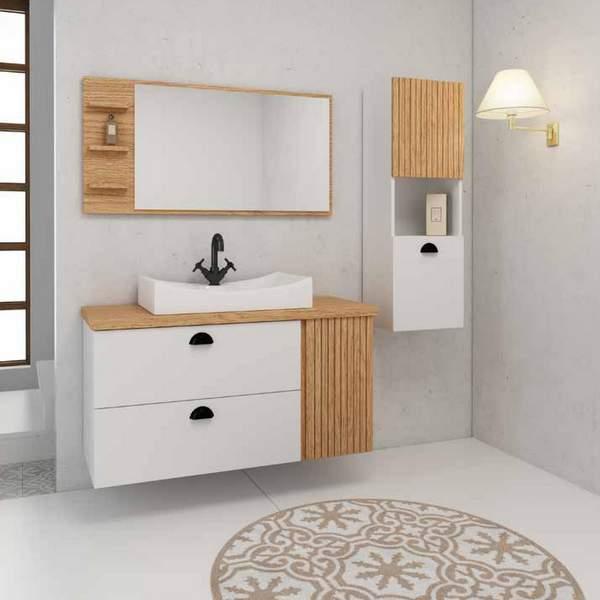 ארון אמבטיה קוקוס