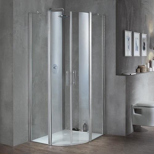 מקלחון מעוגל 90