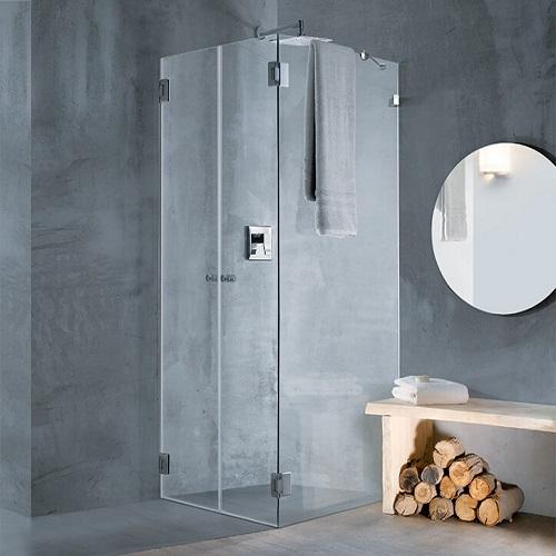 מקלחון פינתי חמת לפי מידה