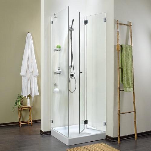 מקלחון אקורדיון ללא פרופילים