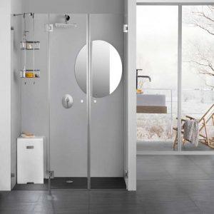 מקלחון חזית ללא פרופיל
