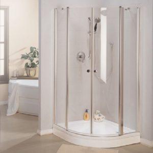 מקלחון מיטרני מעוגל